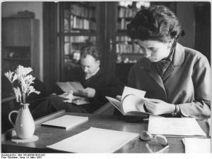 Christa Wolf und Ehemann Gerhard Wolf